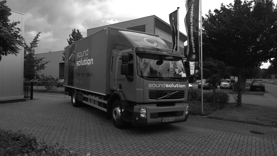 Sound Solution Vrachtwagen